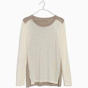 NWOT Madewell Whisper Cotton Crewneck T-Shirt | M